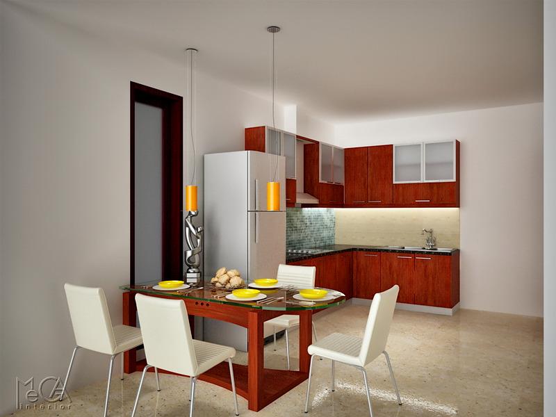 Ruang makan  Dapur CRSBCD090516DRKS  MI Design  Interior