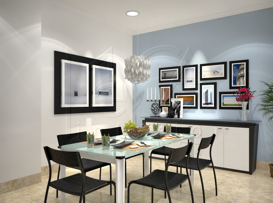 Ruang Makan STHI Dining DIN6690  MI Design  Interior