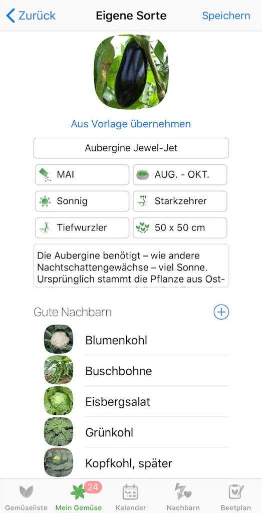 Rezension: App Gemüseplaner fürs Gemüsebeet