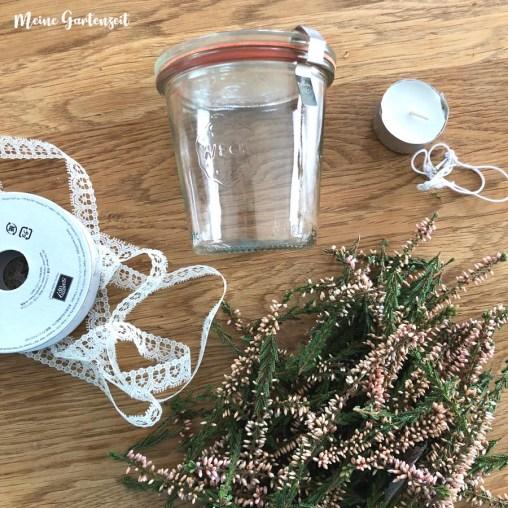 DIY Vintage-Valentinsdeko Heide