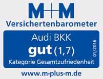 Audi BKK Auszeichnung