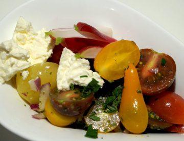 Salat med valgfri fyld