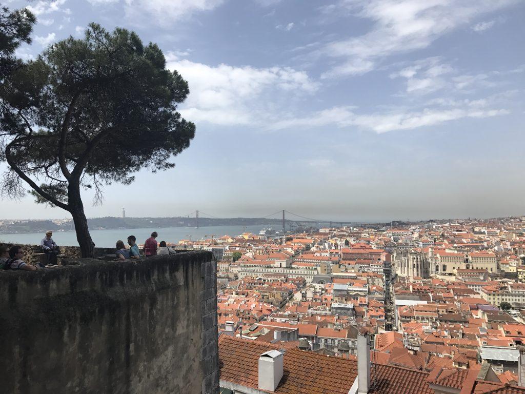 Aussicht vom Castelo de São Jorge