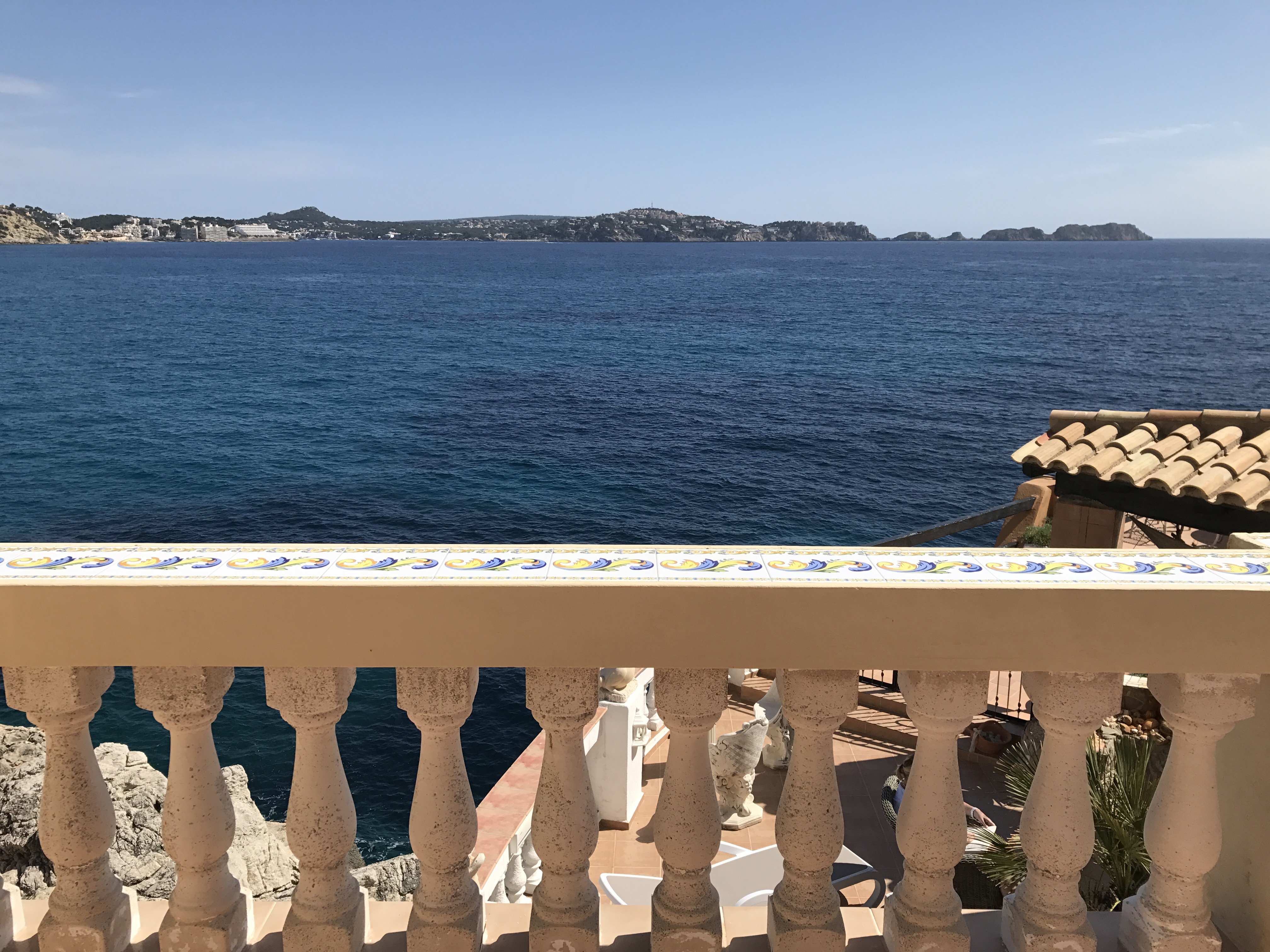 Paguera - Blick vom Balkon