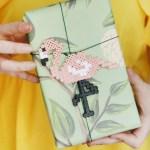 Geschenk Verpacken Mit Diy Flamingo Anhanger Mein Feenstaub