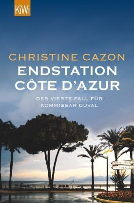 Buch-_Krimi_Christine Cazon Endstation Cote d Azur