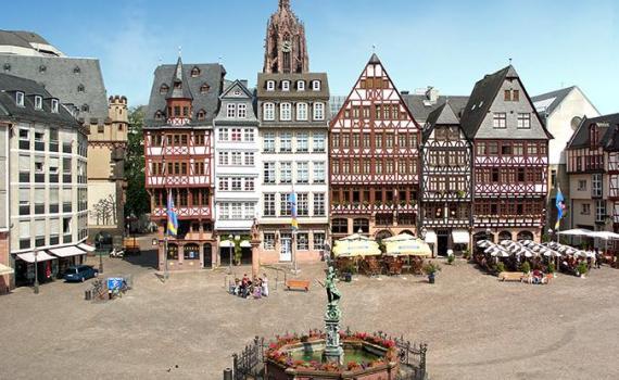 Der Römerberg von Frankfurt