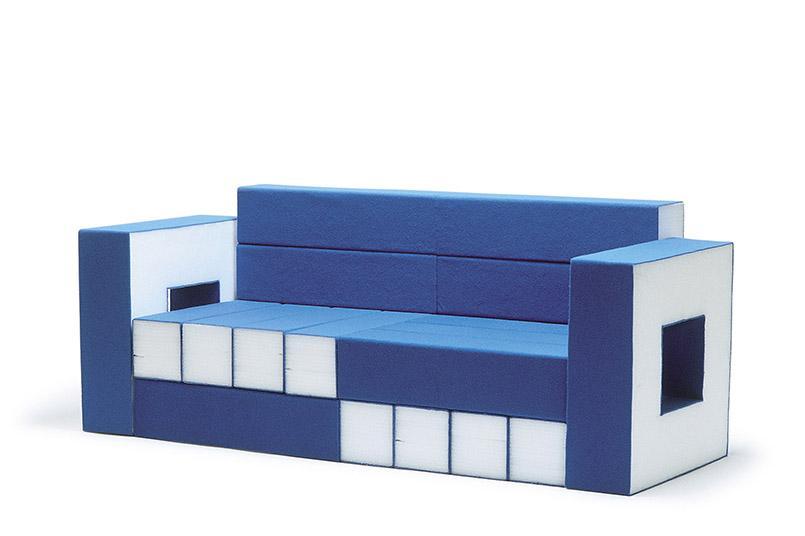 Matali Crasset entwarf im Jahr 2000 Permit de construire