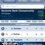PGA Tour App – Leaderboard