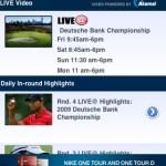 PGA Tour App – Auswahl Videos