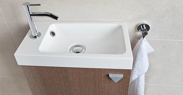 Kleines Waschbecken Für Gäste Wc