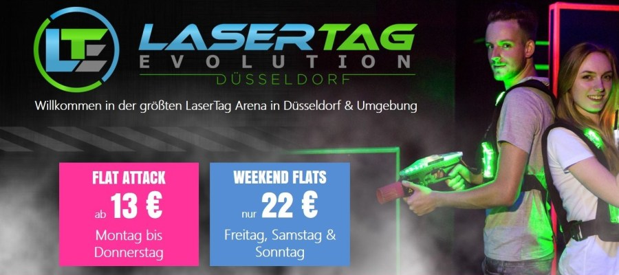 Lasertag Evolution Düsseldorf