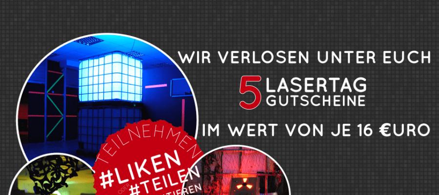 Gewinnspiel Lasergame Rostock meinlasertag