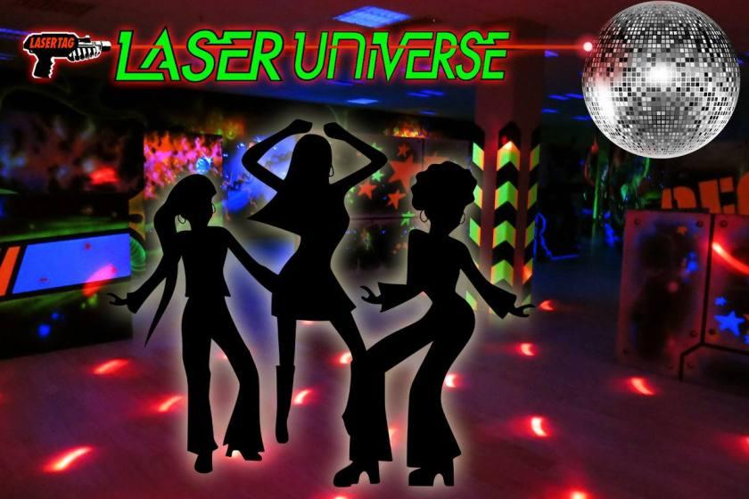 Laser Universe Disco taggen meinlasertag