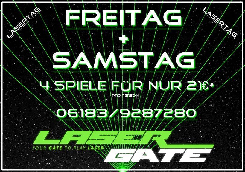 Lasergate 4 Spiele 21€
