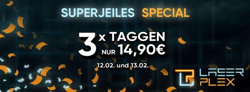 Superjeiles Special Laserplex Lasertag meinlasertag