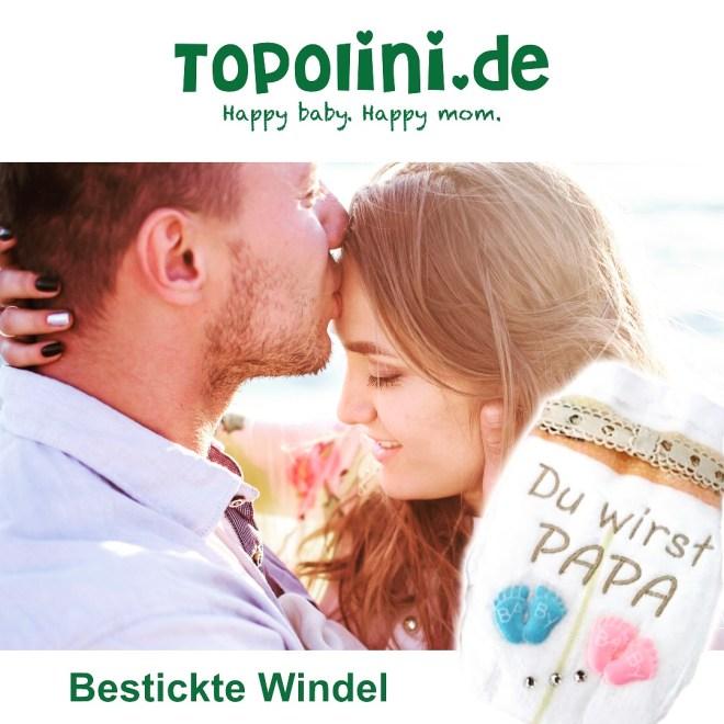 Topolino Logo bestickte Windel