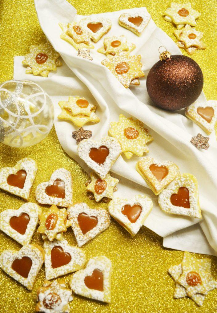 Zauberhaft und süß! Vanillekekse mit Salzkaramell-Füllung