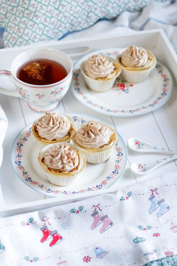 KUSCHLIGE LIEBHABMOMENTE! Apfelstrudel Cupcakes mit Zimtcreme & die neue Greengate Kollektion von Decor & More