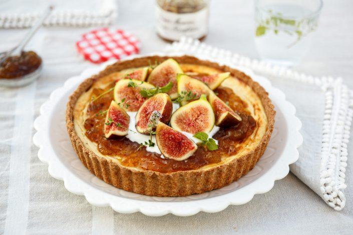 EIN KUCHENGEDICHT FÜR TRAUMHAFT, SÜSSE MOMENTE! Mascarpone Cheesecake mit Feigen Konfitüre