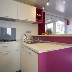 Mobile Home Kitchen Islands Cabinet Boxes Only Mobilheim Gardenia  Campingplatz Rehut Insel Murter