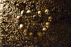 The catacombs, a haunting experience.