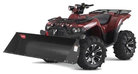 WARN ATV Baggerschaufe für PROVANTAGE Schneepflug
