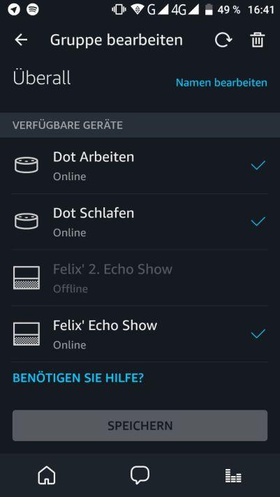 Echo Multiroom Musikgruppe