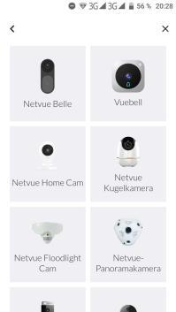 Netvue App Einrichtung