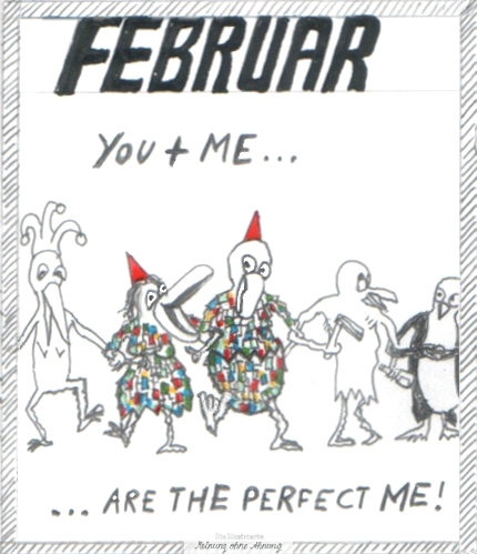 You and me are the perfect me Februar Heini und Heidi 2017 Meinung ohne Ahnung