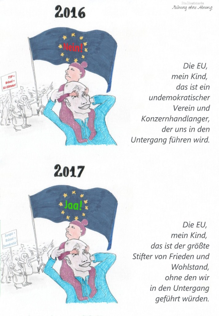The erratic Puls of Europe 2017 Meinung ohne Ahnung