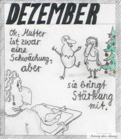 Heini und Heidi Weihnachten Dezember 2017 Meinung ohne Ahnung