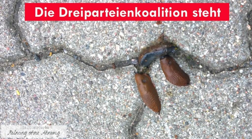 Die Dreierkoalition steht SPD 2018 Meinung ohne Ahnung