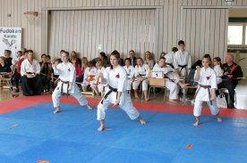 budocenter-steinen-erfolgreich-an-der-deutsche-fudokan-karate-meisterschaften-Kata-Team-Steinen-Jion-2a