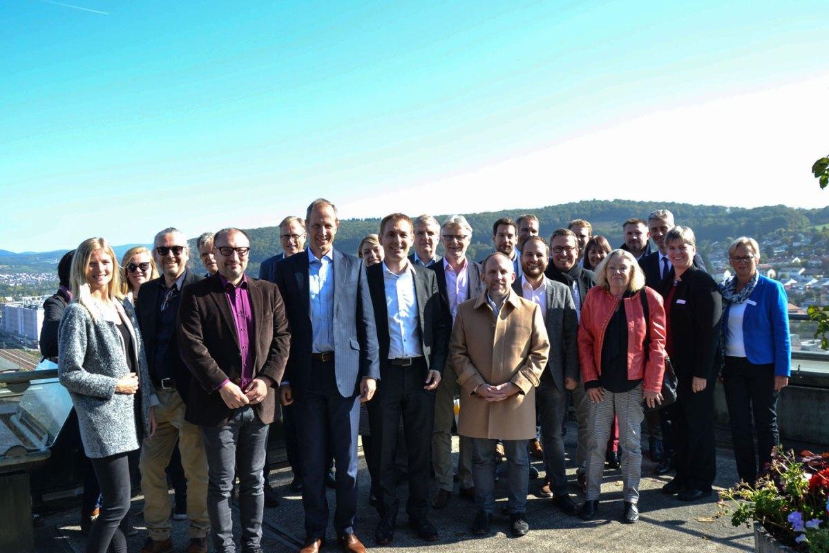 Vertreter der Stadt Ravensburg zu Gast im Lörracher Rathaus