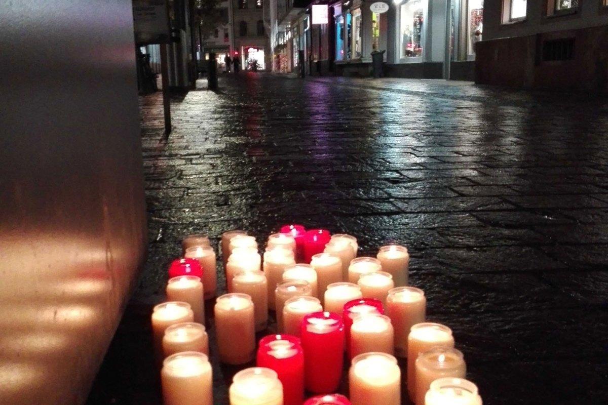 Gedenken an die Pogromnacht in Lörrach - meinWiesental.de / Kommunales