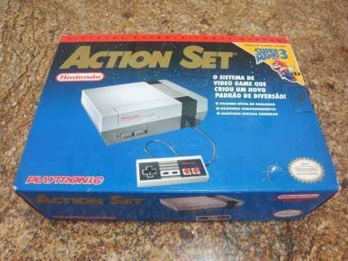 Pelo menos o Action Set já vinha com Super Mario Bros. 3