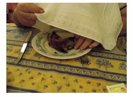 טקס אכילת האורטולן