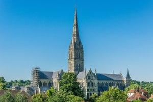 הקתדרלה העתיקה בסליסברי. מקור: ויקיפדיה