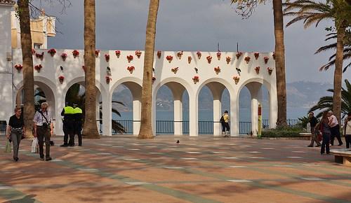 11.00 Uhr – Malaga – der Flieger landet