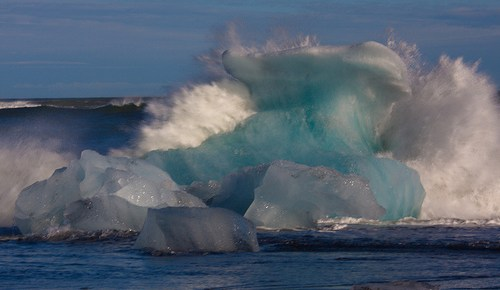 Jökulsárlón – Der Gletscher(see)