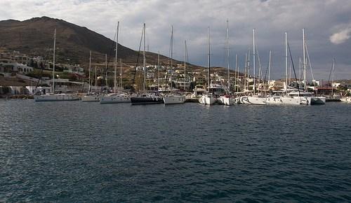 Ein Tag auf See bis Syros (94,6 nM)