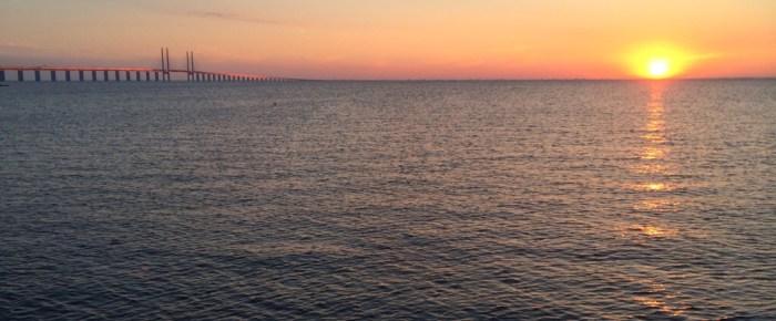 Relaxen an der Øresund-Brücke