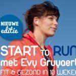 Meisjes van vijftig leerden rennen met evy gruyaert start to run