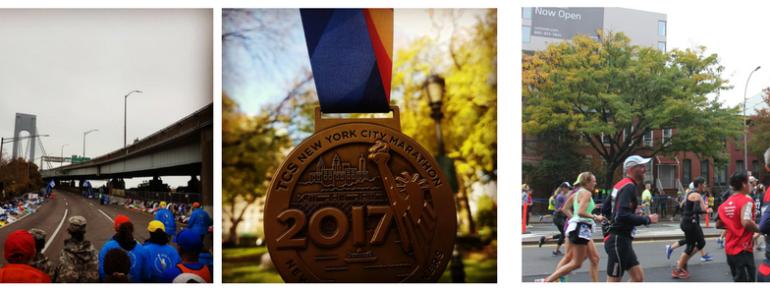 Meisjes van vijftig rennen marathon van New York