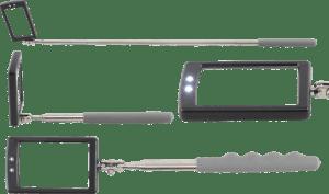LED-Teleskop-Inspektionsspiegel