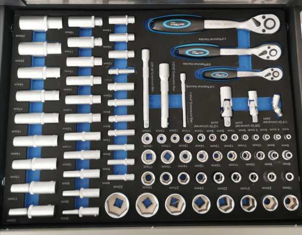 Werkstattwagen 7 Schubladen mit Werkzeug 4