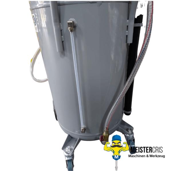 Ölablassgerät Ölablasswanne Ölauffangbehälter mit Druckluft 4