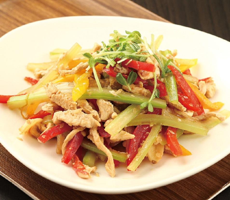 【雞肉炒三絲 + 薑汁嫩肉醬】 – meiweixhiyuan 美味之緣