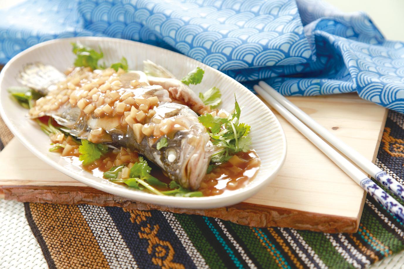 【大頭菜蒸桂花魚】 – meiweixhiyuan 美味之緣